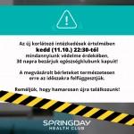 A Springday 30 napra bezár