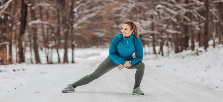 téli edzés a szabadban