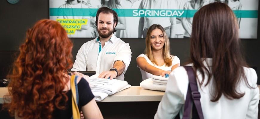 Springday Health Club: klub, közösség, életérzés